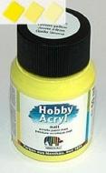 Akrylová barva - citron žlutá mat