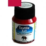 Barva na textil - karmínová