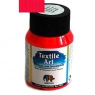 Barva na textil - neónová červená