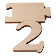 Čísla jmenovky - číslo 2
