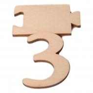Čísla jmenovky - číslo 3
