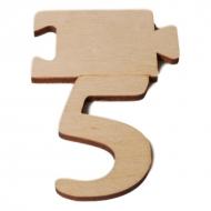 Čísla jmenovky - číslo 5