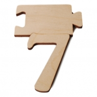 Čísla jmenovky - číslo 7
