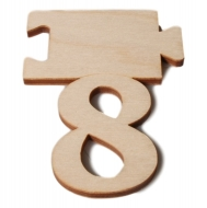 Čísla jmenovky - číslo 8
