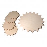 Dřevěné prostírání vzor 02