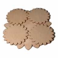 Dřevěné prostírání vzor 04