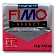 Fimo effect - transparentní červená 56g