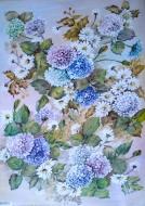 Papíry na decoupage - květiny 4