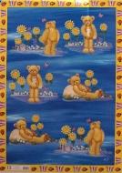 Papíry na decoupage - medvěd se slunečnicí