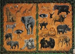 Papíry na decoupage - safari 2