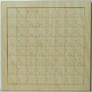 Puzzle překližka - 24x24 cm