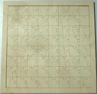 Puzzle překližka - 32x32 cm