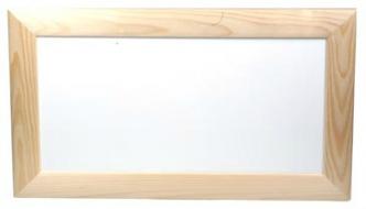 dreveny ramecek 16x32 cm pro decoupga