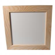 Rámeček dřevěný plochý 16x16 cm