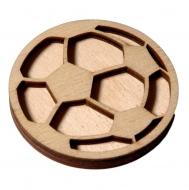 razítko na textil míč