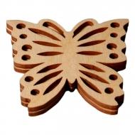Razítko na textil - motýl 4