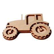 Razítko na textil - traktor 01