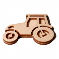 Razítko na textil - traktor 02