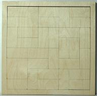 Skládačka na decoupage - 32x32 cm
