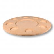 Svícen MDF kruhový na 8 svíček
