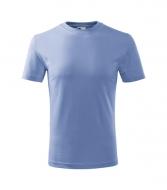 Tričko Adler CLASSIC unisex- nebesky modrá