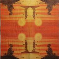 Ubrousky Afrika - domorodci 1