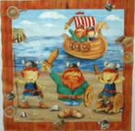 Ubrousky detske - pirati