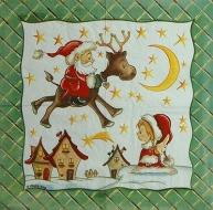 Ubrousky detske - Santa na sobu