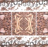 Ubrousek káva - káva, skořice
