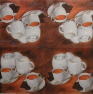 Ubrousek káva - kávový set 4