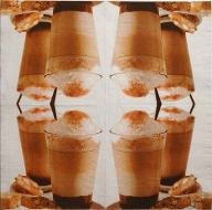 Ubrousek káva - ledová káva