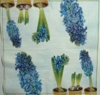 Ubrousek květiny - modrý hyacint