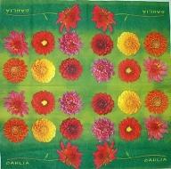 Ubrousek květiny - jiřiny