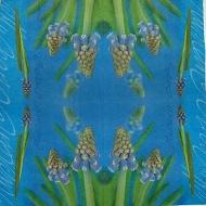 Ubrousek květiny - modřence