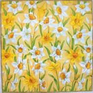 Ubrousek květiny - narcisy mix