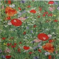 Ubrousek květiny - rozkvetlá louka