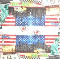 Ubrousek města - New York