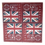Ubrousek města - Londýn - vlajka