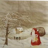 Ubrousek Mona Svärd - Santa s dárky