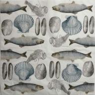 Ubrousek mořský svět - ryby, mušle