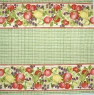 Ubrousek ovoce - červená jablka