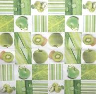 Ubrousek ovoce - zelená jablka
