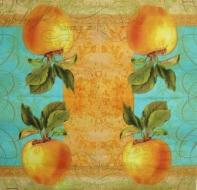 Ubrousek ovoce - antické jablko