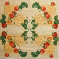 Ubrousek ovoce - jahody