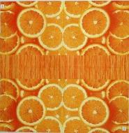 Ubrousek ovoce - plátky pomerančů