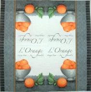 Ubrousek ovoce - miska pomerančů