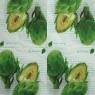 Ubrousek plody - artičok