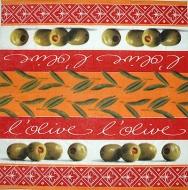 Ubrousek plody - olivy