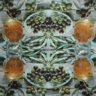 Ubrousek plody - středomořský styl