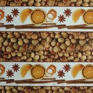 Ubrousek vánoční - ořechy